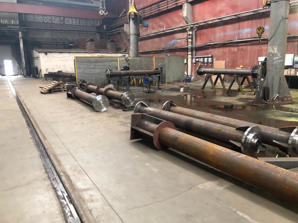 ЛИЗСК. Производство металлоконструкций.
