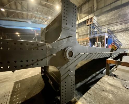 ЛИЗСК. Процесс изготовления сварных металлоконструкций