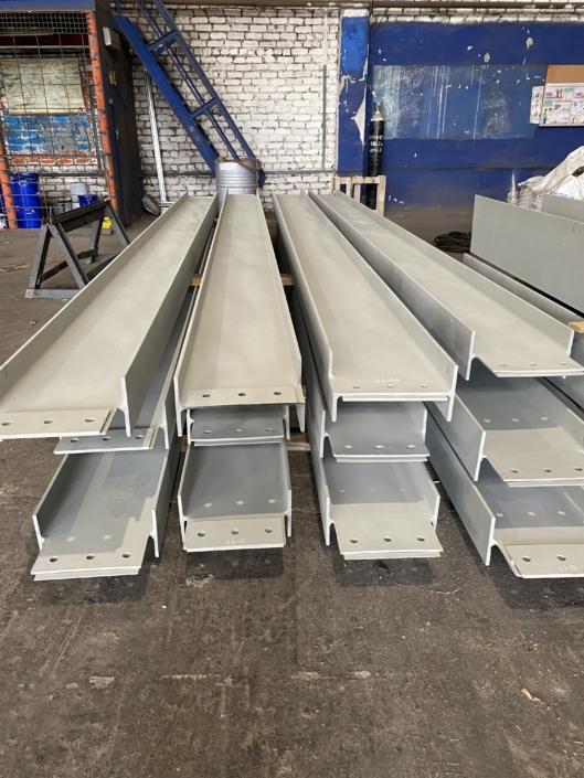 Металлоконструкции для нашего стратегического заказчика ПАО «НЛМК»