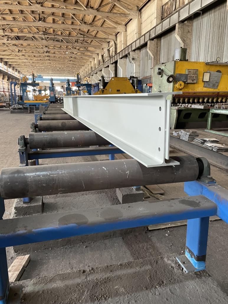Изготовили и отгрузили металлоконструкции для НЛМК